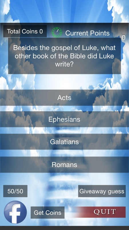 The Ultimate Bible Trivia Quiz - Online Game Hack and Cheat