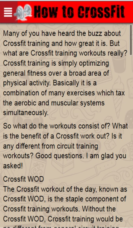 How to CrossFit+: Learn CrossFit Training The Easy Way screenshot-3
