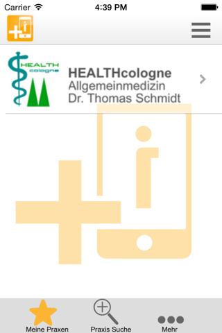 Praxis Dr Jörg Schmitz-Gielsdorf Aachen screenshot 2