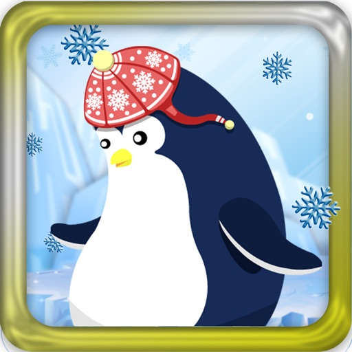 A Jumping Penguin Winter Snow Game - Free Version