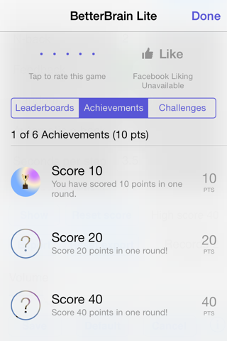BetterBrain Lite screenshot 4