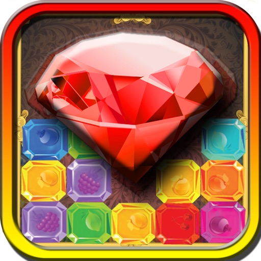 Diamond Fruit Blitz - Multiplayer Match 3 Puzzle Game