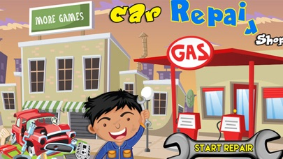 Car Factory & Repair Shop - Build your car & fix it in this
