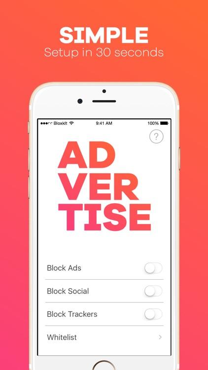 BloxkIt : Global Ad Blocker for Safari - Browse Faster