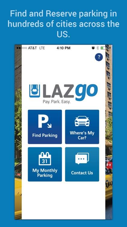 LAZgo – Free Parking Finder App