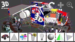 3D Kit Builder (Monster Truck)のおすすめ画像3
