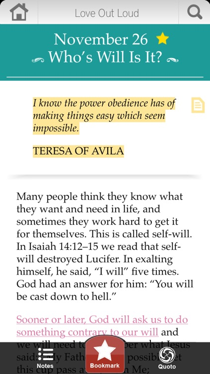 Love Out Loud Devotional