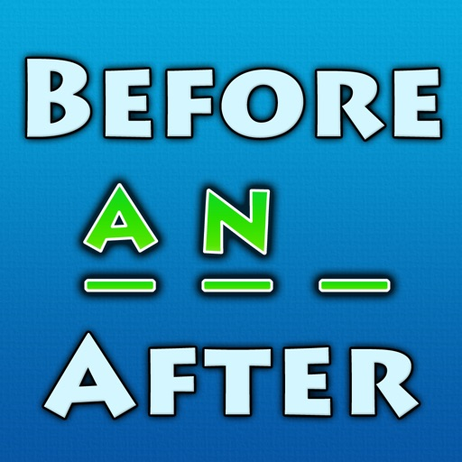 Before And After - The Word In The Middle Puzzle Game