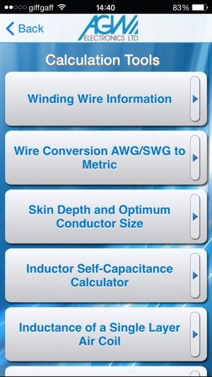 AGW Calc on the App Store
