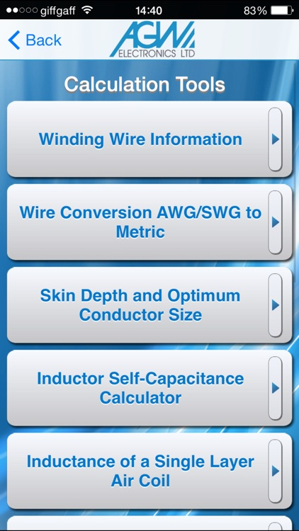AGW Calc
