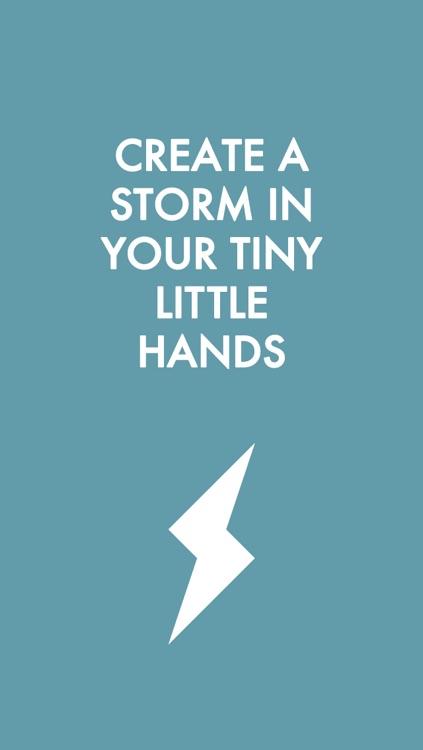 Storm Sounds: Make it Rain in Your Hand screenshot-3