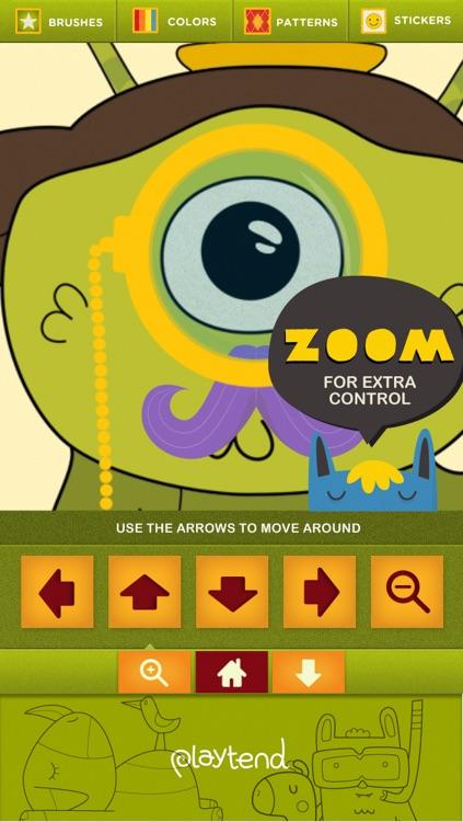 Monster Coloring Book screenshot-3