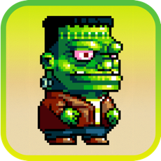 Activities of Dumpy Pixel Monsters: The Adventure of Scary Aliens
