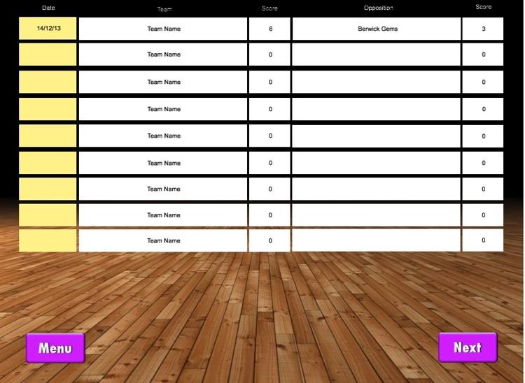 ScoreKeeper Netball PRO HD screenshot-4