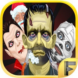 Monster Shave Salon Makeover Free - For fans of Santa Claus, Frankenstein, The Mummy & Dracula