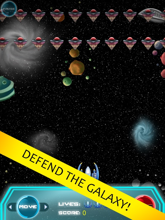 Galaxy Universal Defender - Save the Earth War Game HD