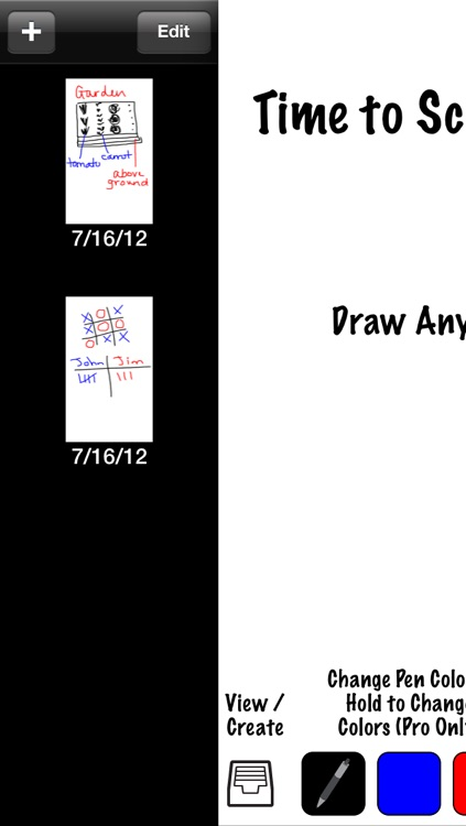 Scribble It 2 - Quick and Easy Drawings and Notes