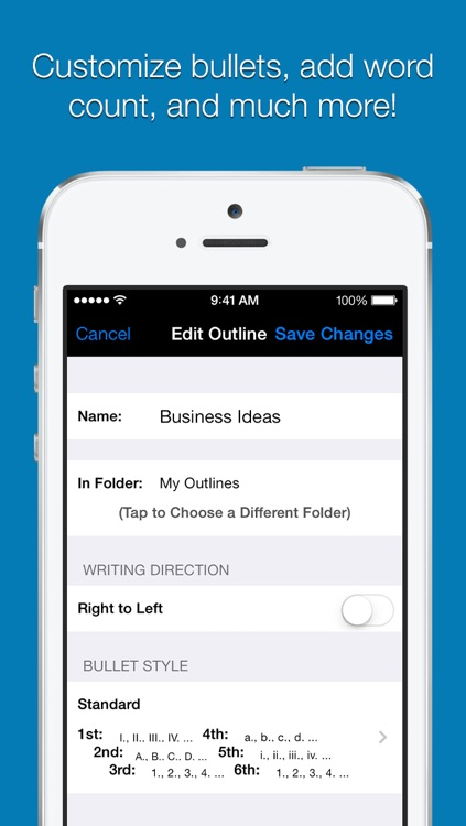Outline Pro for iPhone screenshot-4