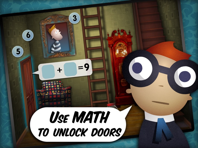Mystery Math Town screenshot-1