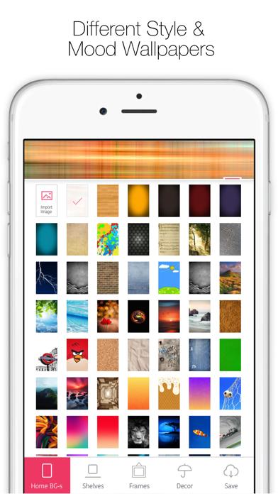 Icon Skins Builder - Personaliza con los fondos tanto la Pantalla de Inicio como la Pantalla bloqueadaCaptura de pantalla de4