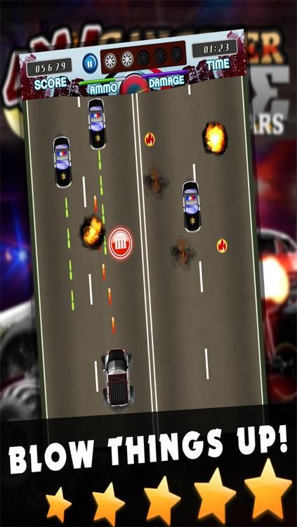 4x4 Gangster Crime Police Smash Wars - Monster Truck Mafia Games FREE