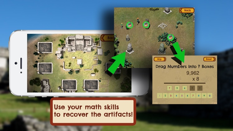 Loot Pursuit: Tulum: The Fun, Free Mathematics Game for ages 11-14 screenshot-3