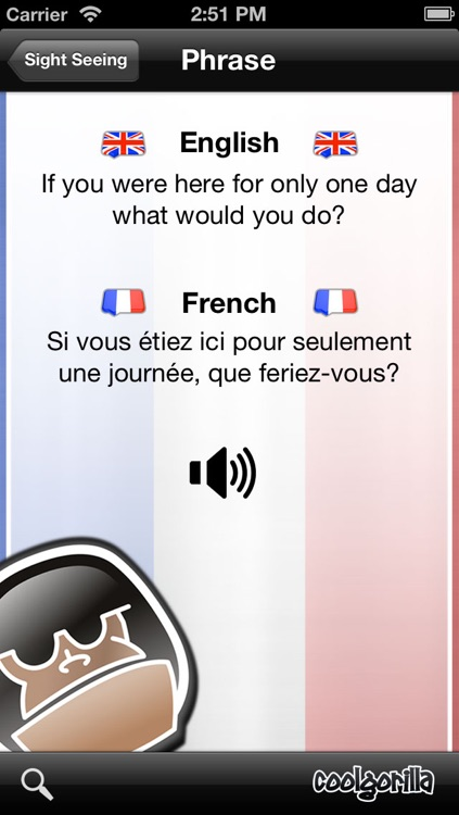 French Talking Phrasebook screenshot-3