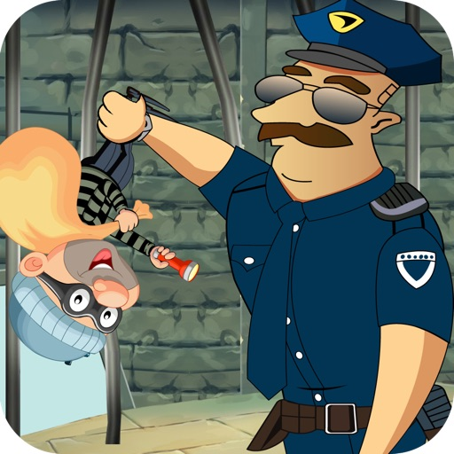 City Cop & Robber Building Shooting Battle - Police Robber Chase Gun Throwing Showdown Pro
