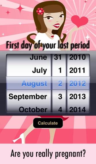 Pregnancy due date calculator how pregnant am i? Week & days.