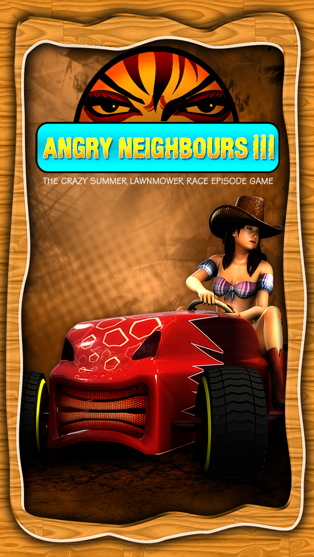 Angry Neighbours 3 - The Crazy Summer Lawnmower Race