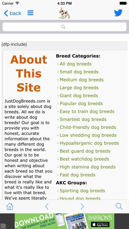 Just Dog Breeds