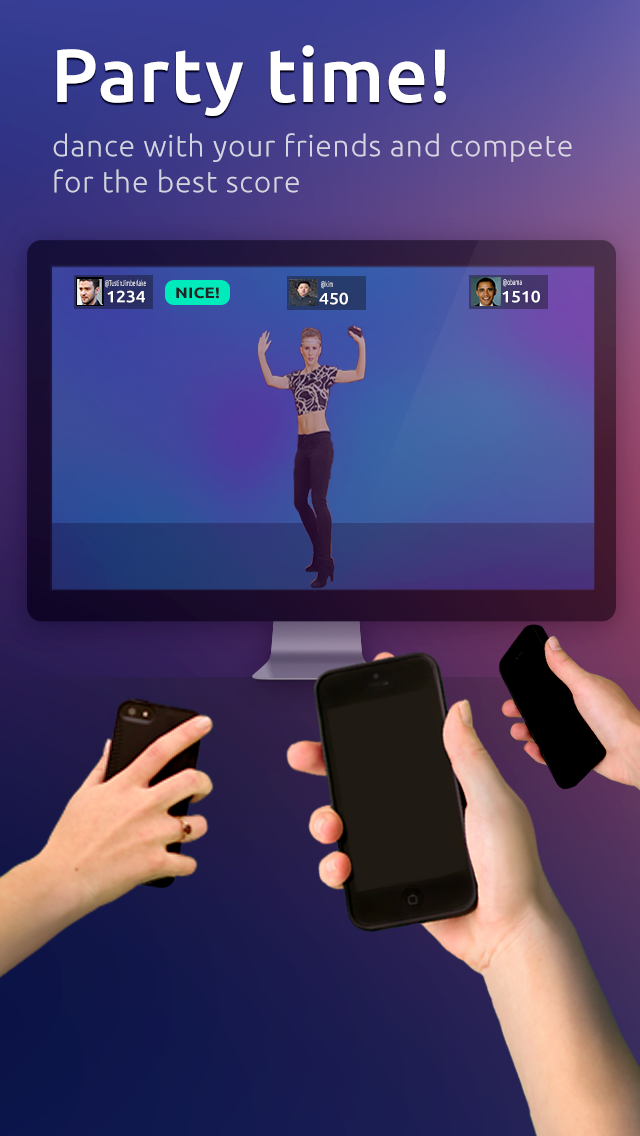 Jamo = Dance games from Wii  Now just dance with iPhone on the go