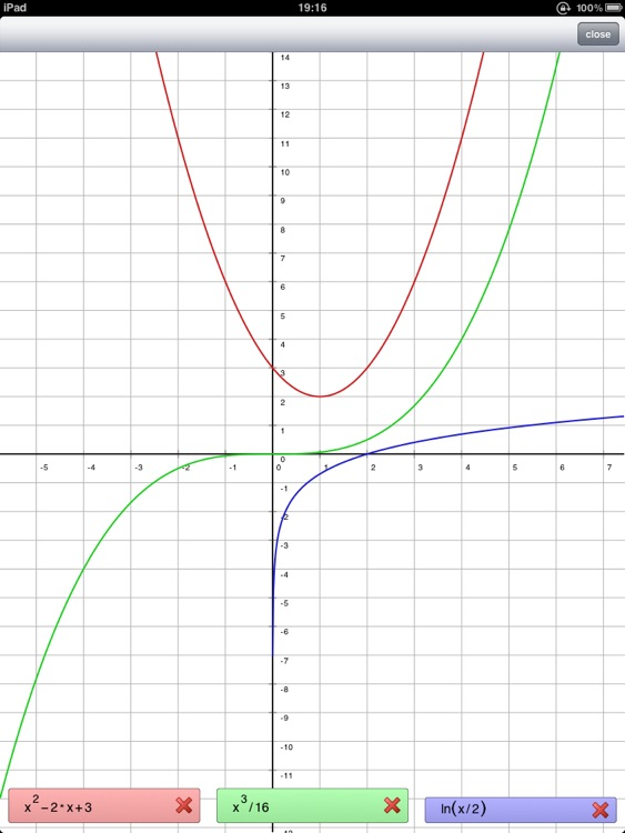 Symbolic Calculator HD screenshot-3