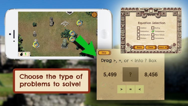 Loot Pursuit: Tulum: The Fun, Free Mathematics Game for ages 11-14