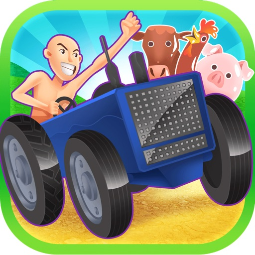3D Truck Farm Harvest Racing Frenzy By Fast Driving Animal Voyage Mania Games Free