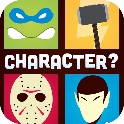 Guess The Character Word Game - Close Up Shadow Quiz Of TV Movie Pop And Cartoon HD FREE iOS App