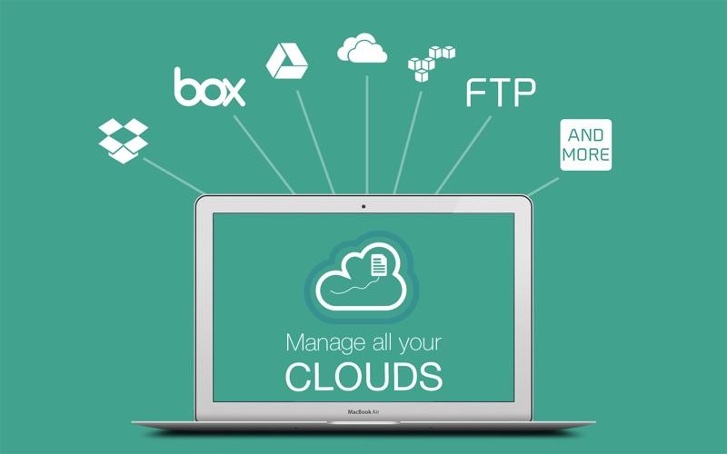 云储存管理设备 AirFile for Mac