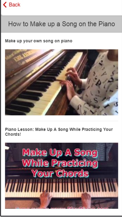 Easy Piano Tutorial - The Fun and Fast Way to Learn Songs on Piano screenshot-3