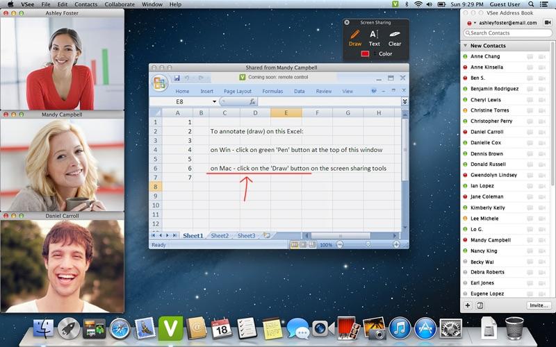 VSee Screenshot