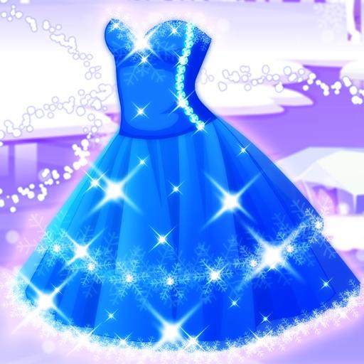 魔仙女王的蓝礼服