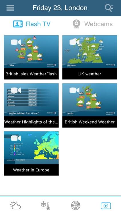 UK Weather forecast Pro screenshot-3
