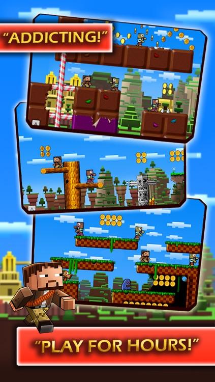 Block World Free >> Super Pixel Pistol Hero Vs Monsters A Block World Survival Game