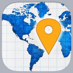 Coordinates - Your GPS Coordinates, Altitude, Compass