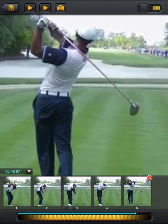 Golf Swing Analyzer HD By CS Sports - Coach's Instant Slow motion Video Replay Analysis