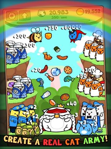 Скачать Kitty Cat Clicker - Поток виртуальный кошку с печеньем и конфетами