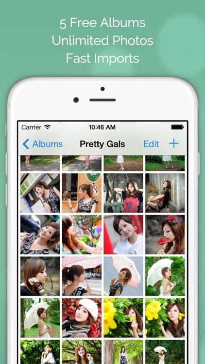 Photo Tank FREE - Lock Photos with Passcode