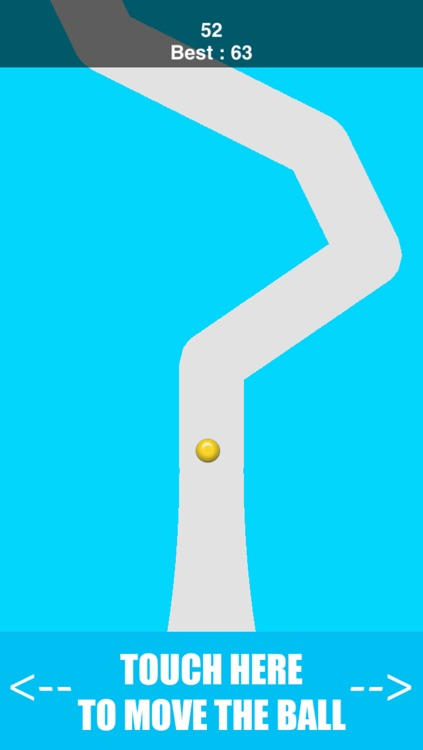 Inside The Line Path - keep the dot in the line's two walls screenshot-1