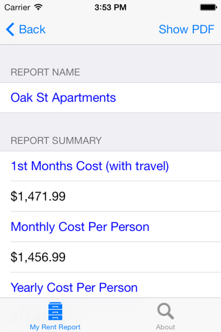 My Rent Report screenshot 4
