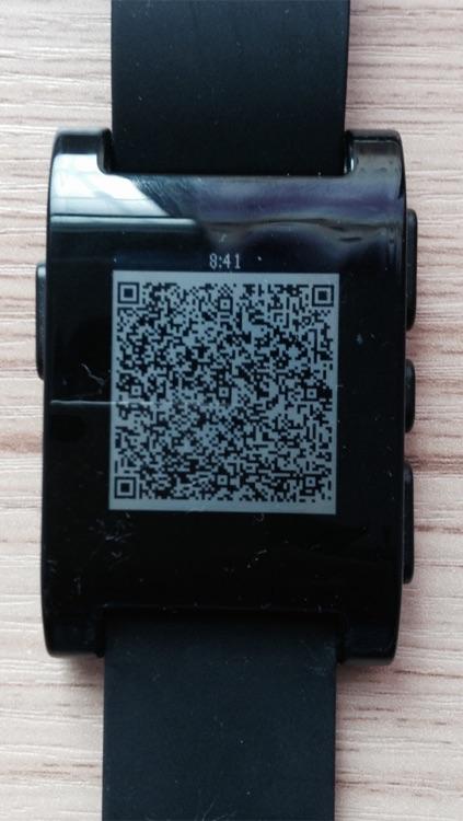 Pebble QR - Share my VCARD