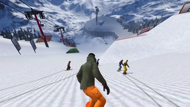 Fresh Tracks Snowboarding screenshot-3